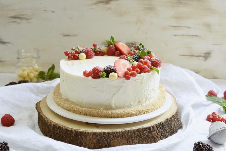 Cheesecake de Chocolate Blanco