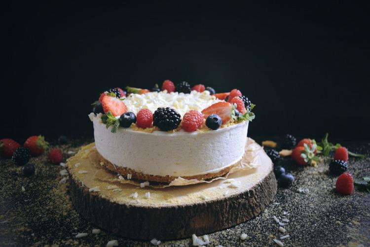 Tarta de Yogur y Vainilla