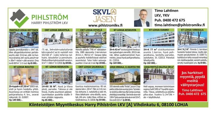 Asuntokaupoille Lohjalle