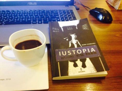 """Adrian Rista: Dacă citeşti Iustopia şi asculţi Wish You Were Here de la Pink Floyd îţi ,,dă un film"""" de n-ai vazut"""