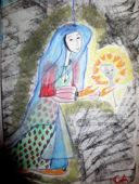 bleue marionnette