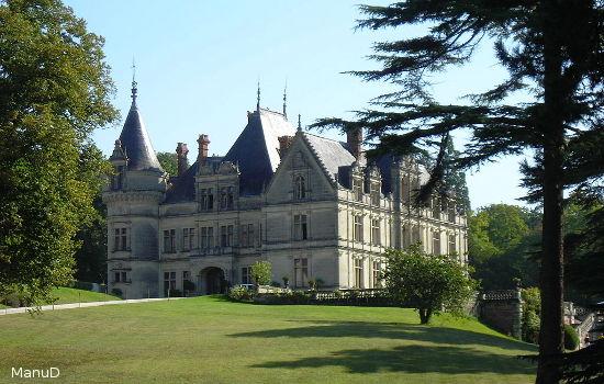 Château de la Bourdaisière châteaux qui se visitent région centre jardin parc