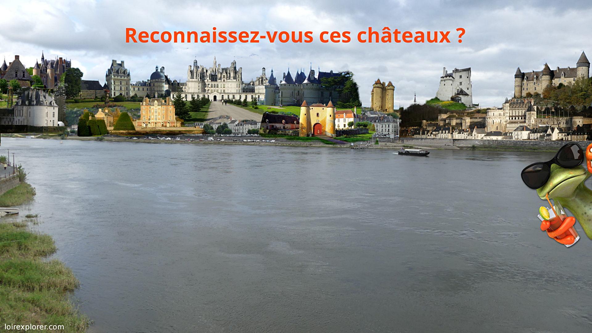 Quels Chteaux De La Loire Se Visitent Carte Des 120 Ouverts En Rgion Centre