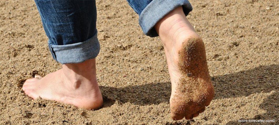 Premier sentier pieds nus en Val de Loire : Randonnez autrement