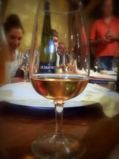 soirée dans les vignes de Touraine vin de Loire la Chapinière