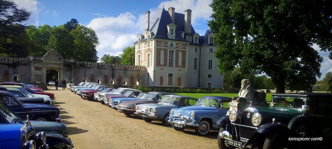 Visite du Château de Selles sur Cher en photos