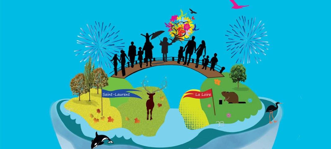 Festivité en bord de Loire