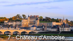 monument et châteaux de la Loire ouverts toute l'année Château d'Amboise