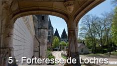 monument et châteaux de la Loire ouverts toute l'année Château Forteresse de Loches