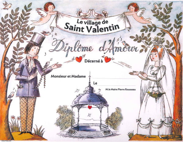 11 idées insolites pour fêter la St Valentin au village de Saint Valentin