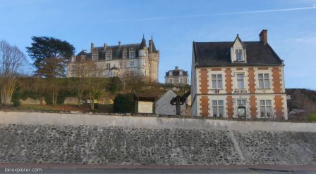 Excursion insolite Selles sur Cher – Montrésor mairie de Châteauvieux
