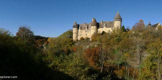 voyage insolite au centre de la france Château de Culan idée d'excursion