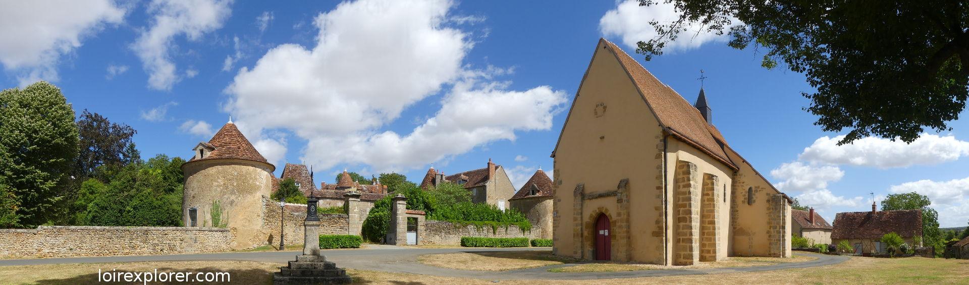 voyage au centre de la france Village de Montlevicq excursion insolites