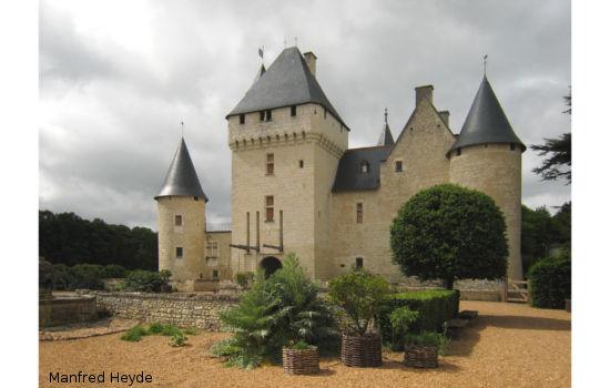 Château du Rivau châteaux qui se visitent région centre