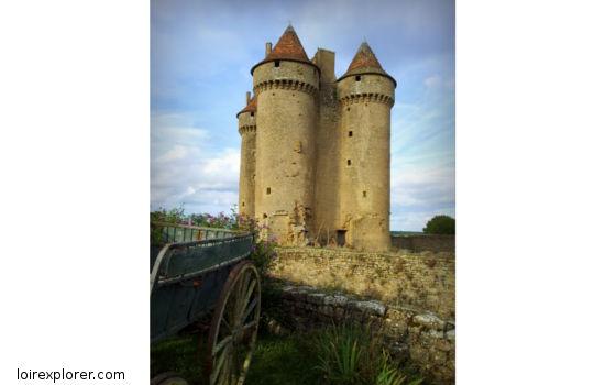 Château de Sarzay châteaux qui se visitent région centre