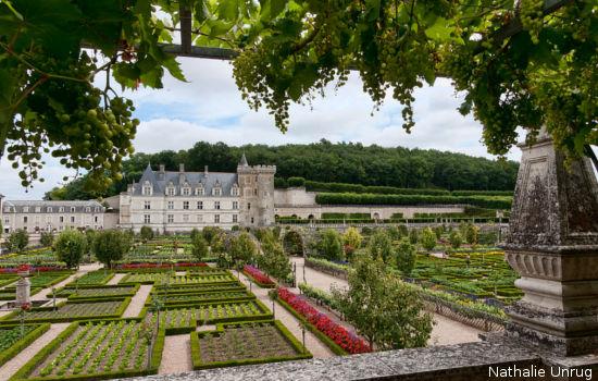 Château de Villandry châteaux qui se visitent région centre jardin parc
