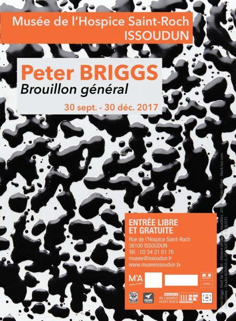 Peter BRIGGS  Brouillon général | exposition au Musée de l'Hospice Saint-Roch à Issoudun