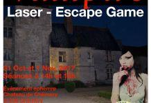 Escape Game Laser Game Halloween