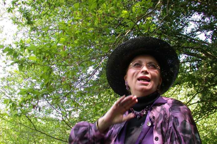 Marie du Berry balade littéraire à Sainte-Sévère - crédit photo copyright Jean-Marc-Petit - Amicale Marie du Berry