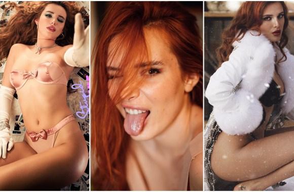 Bella Thorne sem censura mostrando corpo deliciosa