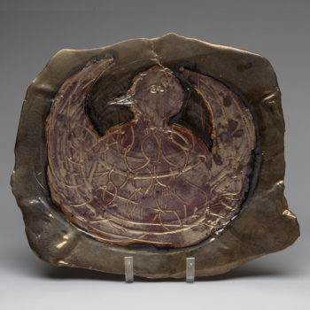Image: Bird Plate 4 - Lois Sattler