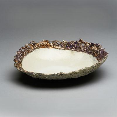 Image: Pearl Shell Porcelain Bowl - Lois Sattler
