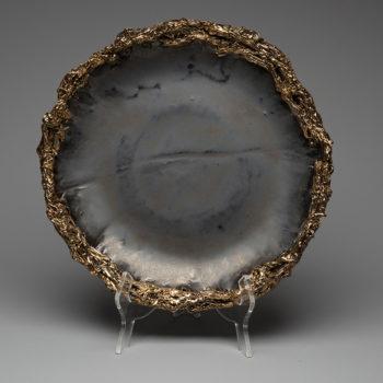 Image: Lois Sattler, American Artist, Ceramicist - Hand Crafted Porcelain Bowl
