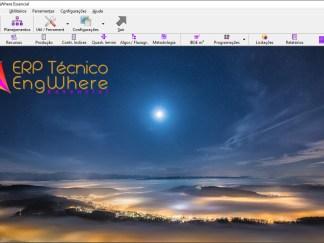 Software de planejamento de obra e da empresa