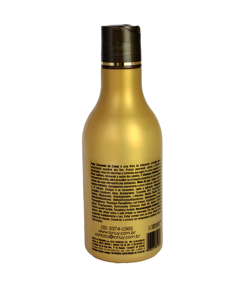 shampoo esfoliante capilar