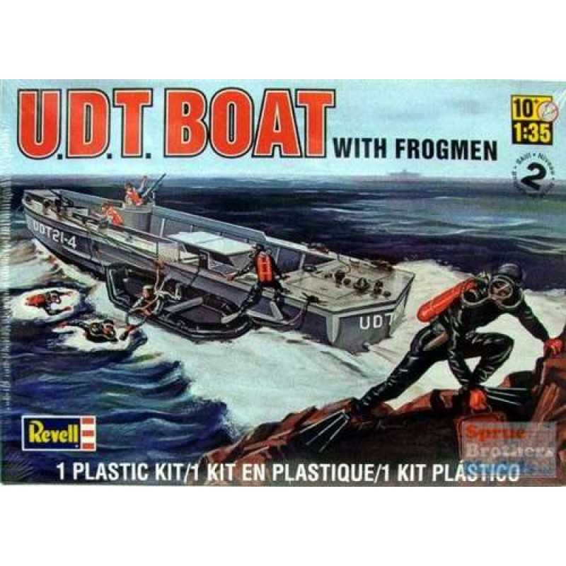 Udt Boat W Frogmen