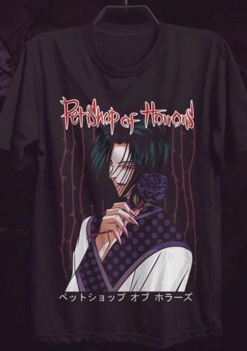 Camiseta Petshop of Horrors