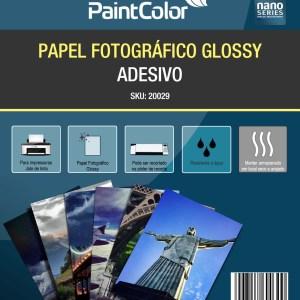 Papel Fotográfico Glossy Adesivo 115g A4 100 Folhas