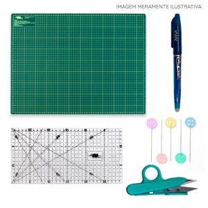 Kit de Materiais Básicos para Costura Criativa com Base A2