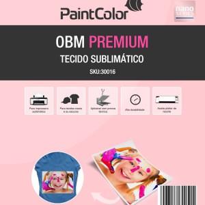 Tecido Sublimático OBM Premium A4 10 Folhas