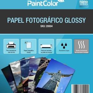 Papel Fotográfico Glossy A4 180g 20 Folhas