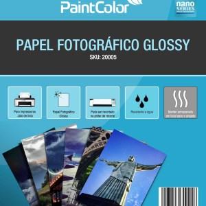 Papel Fotográfico Glossy A4 180g 100 Folhas