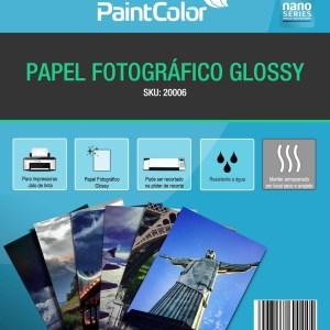 Papel Fotográfico Glossy A4 230g 20 Folhas