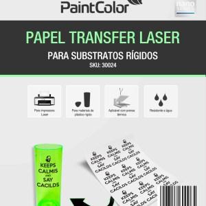 Papel Transfer Laser Para Substratos Rígidos 100g A4 - 100 Folhas