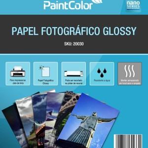 Papel Fotográfico Glossy para Jato de Tinta A3 180g 20 Folhas