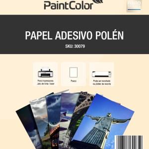 Papel Adesivo Polen para Jato de Tinta 180g A4 100 Folhas
