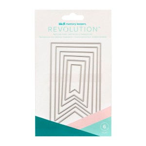 Faca de Corte Bandeira We R Revolution - Kit com 6 Peças