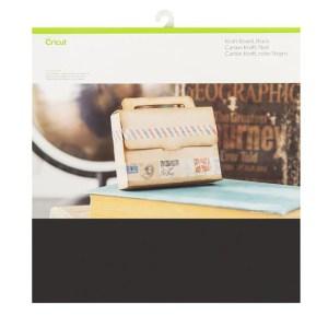 Papel Kraft Preto - Cricut Cardstock 30x30 cm - 20 folhas