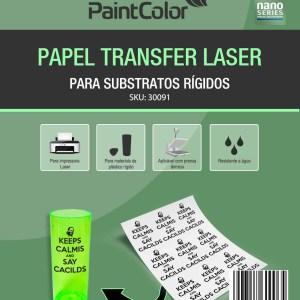 Transfer Laser para Materiais Rígidos 120g A4 - 20 Folhas