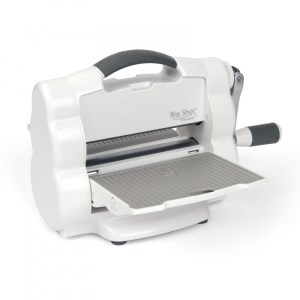 Big Shot Sizzix Portátil - Máquina de Corte e Vinco Manual
