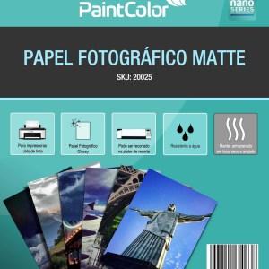 Papel Fotográfico Matte 170g A4 20 Folhas