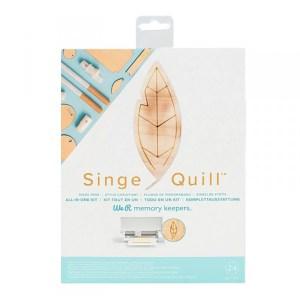 Singe Quill We - Ferramenta de Gravação em Madeira