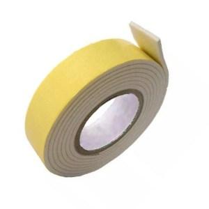 Fita Banana 2 Metros x 12mm - Fita Dupla Face Espuma