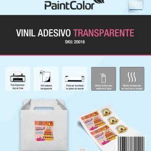 Vinil Adesivo para Jato de Tinta Transparente Glossy A4 100 Folhas