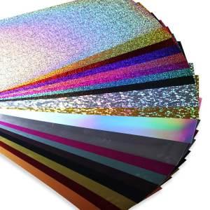 Filme de Recorte Holográfico Nano Transfer 50x20cm
