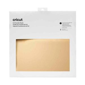 Foil Transfer Folhas Dourada Cricut 30,5 x 30,5 cm